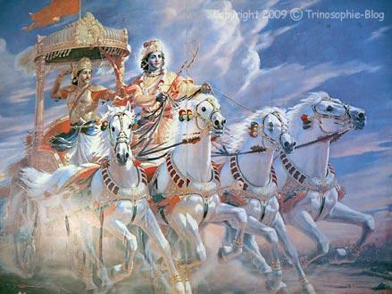Allegorische Gewalt in religiösen Schriften: Beispiel Bhagavat Gita (I)
