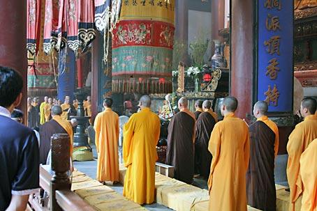 Sinn des Lebens: Buddha sehen und Wissen erwerben