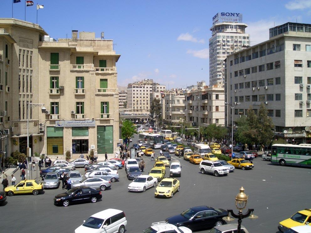 Das Vorkriegs-Damaskus